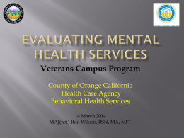 Veterans Campus Program