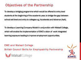 Eastcape Midlands College-Walsall Consortium