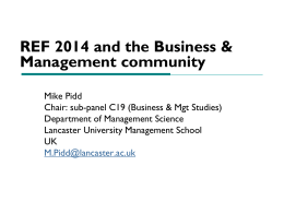 Impact - The Association of Business Schools
