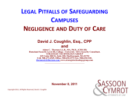 NH Negligence and Duty of Care