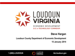 Loudoun County Department of Economic Development (Steve