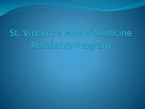St. Vicents Family Medicine Residency