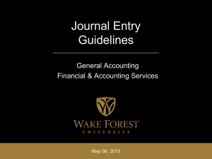 Financial Statement Training
