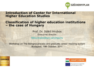 Center for International Higher Education Studies