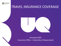 2014-uqinsurance - University of Queensland