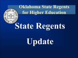 Oklahoma Educational Planning and Assessment System