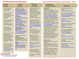 Entrepreneurship Roadmap - Stanford Graduate School of Business
