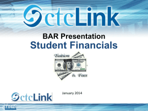 Student Financials Presentation - Washington State Board for