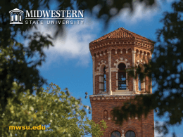 College of Business - Midwestern State University