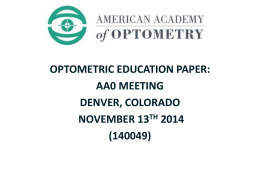 here - Association of Schools and Colleges of Optometry
