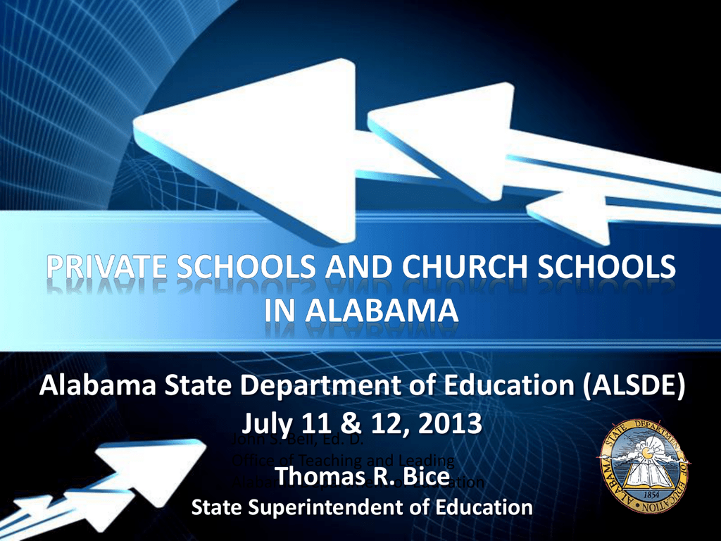 Private Schools And Church Schools In Al
