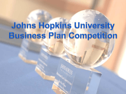General Business Plan Competition Information Powerpoint