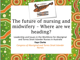 The future of nursing and midwifery * Where are we heading?