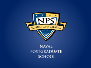 Command Brief PPT - Naval Postgraduate School