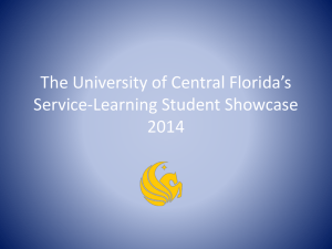 2014 Student Showcase Award Recipients and Sample Projects