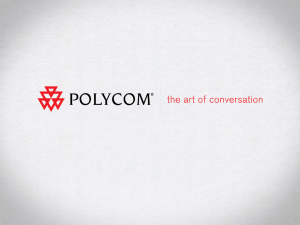 Polycom Corporate PPT Template