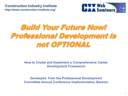 Navigating Fluor University - Construction Industry Institute