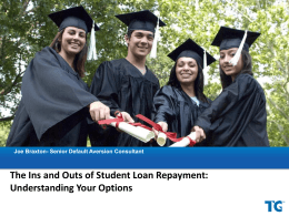 Ins and Outs of Student Loan Repayment