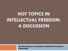 Presentation  - Florida Library Association