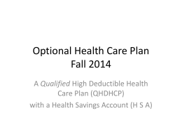 October-2014-High-Deductible-Health-Care-Plan-Option