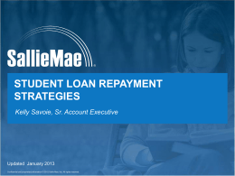 Student loan repayment strategies