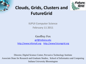 iupui-feb11-2011 - Community Grids Lab