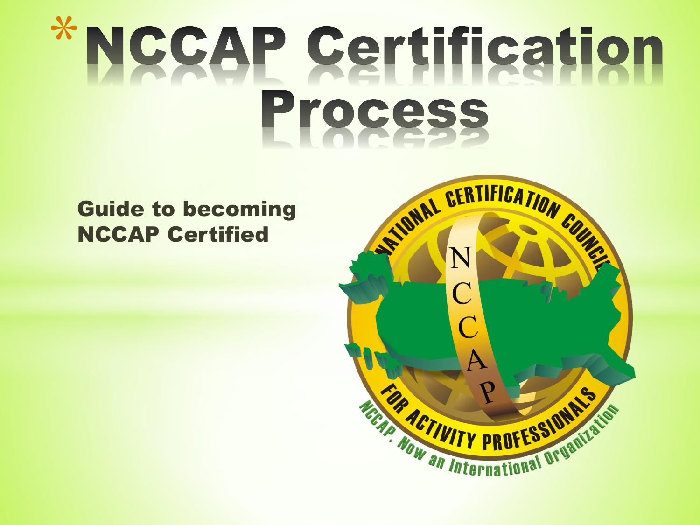 Nccap certification presentation state reps xflitez Gallery