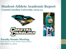 Attachment - Coastal Carolina University