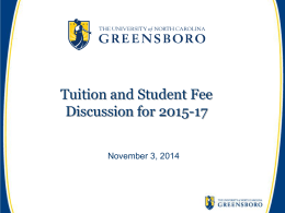 here - UNCG Budget Central - The University of North Carolina at