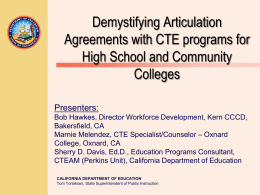 Demystifying Articulation Agreements mm 2 24 14