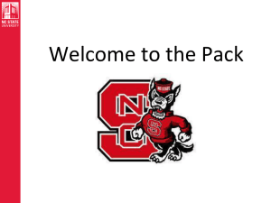 new employees - Onboarding - North Carolina State University