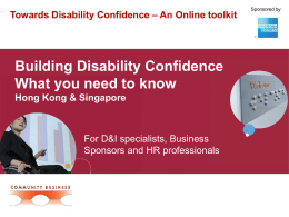 Building Disability Confidence:What You Need to Know
