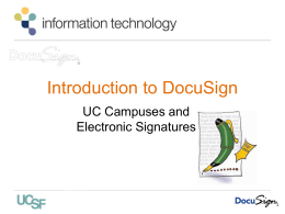 docusign uccsc 2- it template