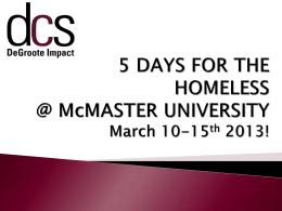 DeGroote Impact - McMaster University