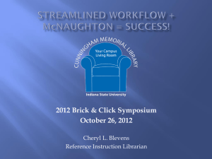 Streamlined Workflow + McNaughton = Success!