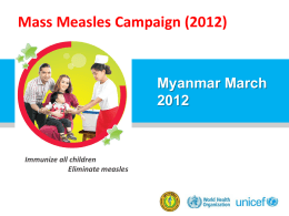 PowerPoint Template - Measles & Rubella Initiative