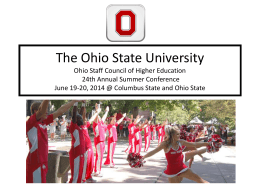 Ohio State University - Columbus State Community College