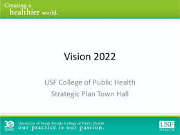2014 Strategic Plan Presentation