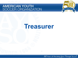 Treasurer PowerPoint Presentation