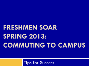 Commuting & Off Campus Students