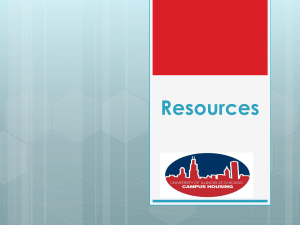 Campus Resources Powerpoint
