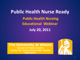 Public Health Nurse Ready