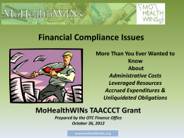 Financial Compliance Issues powerpoints