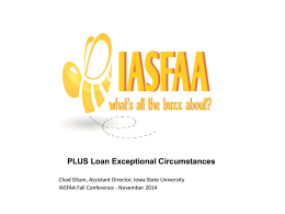 Loan Exception Circumstances