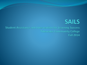 the SAILS Fall 2014 Powerpoint