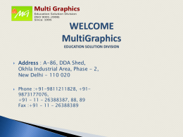 Online Exam - multigraphics