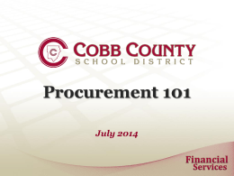 contracts - Cobb County School District