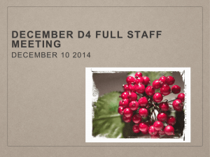 December d4 full staff meeting