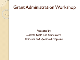 Grants - Wright State University