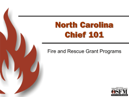 Chief Grants - North Carolina Department of Insurance